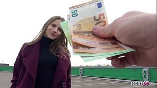 German Scout – Skinny Visitor Teen Stella Take Fuck For Cash On Street Choose Up Model Job
