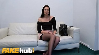 Fake Agent Shy Thin Sweetheart Leanne Lace Loves To Riding