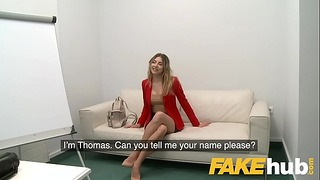 Fake Agent Lovely Ass Russian With Ideal Tits Takes Huge Penis in Terview