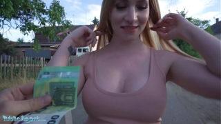 Public Agent Big Boobs Ginger Kiara King Fucked in a Tight Dress